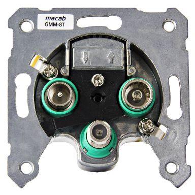 Macab GMM-8T Multimediauttag galvaniskt, avskilt, 8 dB, änduttag