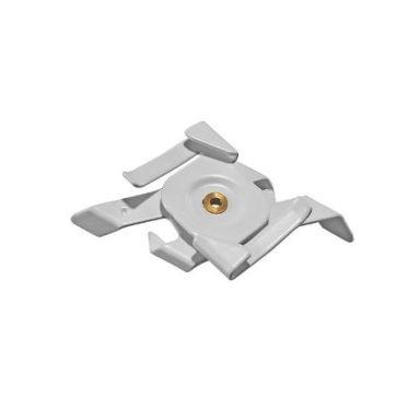 Easyform Easytrac Vridclips för takprofil, vit