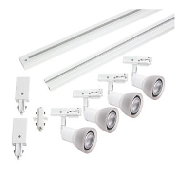 Vinga Ljus Spotline Spotlightset 4 x 4 W, dimbar