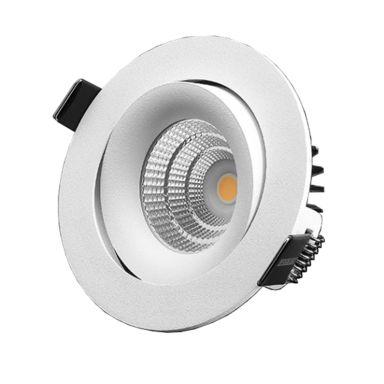 Designlight P-1602530 Downlight 7 W, vinklingsbar, vit