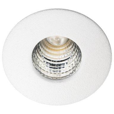 SG Armaturen Nano Downlight 1 W, mediumstrålande, vit