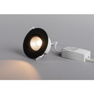 Hide-a-Lite Optic Quick Downlight svart