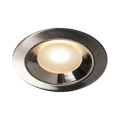 Hide-a-Lite Core Smart Downlight 120°, børstet stål