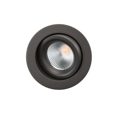 SG Armaturen Junistar Lux Isosafe Downlight 7 W, grafit