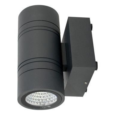 Vinga Ljus Funkis Nova Väggarmatur 2 x 6 W, 3000 K, svart