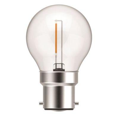 NASC Klot LED-lampa för julgransslingor, 1 W, 30-pack