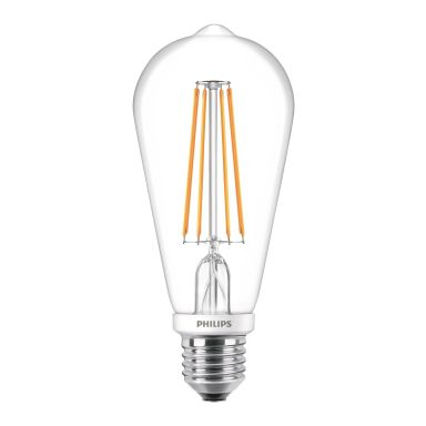 Philips Classic LED Filament LED-lampa Edisonform, E27-sockel