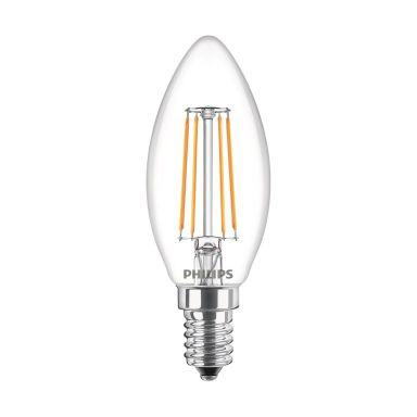 Philips Classic LED Filament LED-lampa 4,3 W, kronljusform