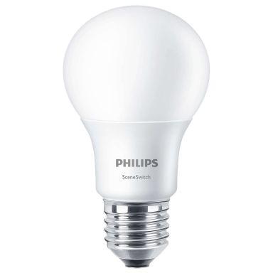 Philips SceneSwitch LED-lampa E27-sockel