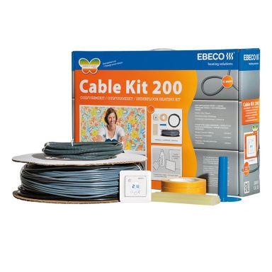 Ebeco Cable Kit 200 Golvvärmekabel 150W, 13,5 m