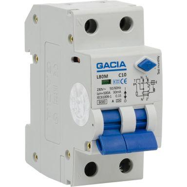 Gacia 4021164042 Personskyddsbrytare 2-pol, CI0A