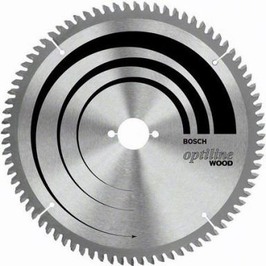 Bosch 2608640444 Optiline Wood Sagklinge 60T
