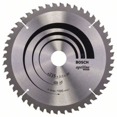 Bosch 2608640432 Optiline Wood Sahanterä 48T