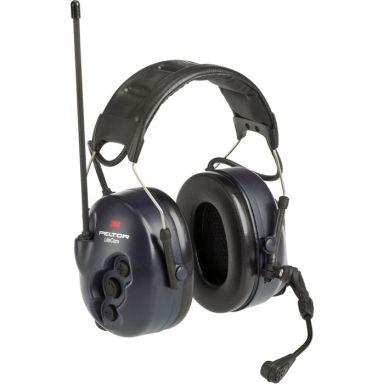 3M Peltor LiteCom Hörselskydd med komradio, hjässbygel