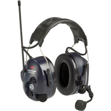 3M Peltor LiteCom Plus Hörselskydd med komradio med hjässbygel