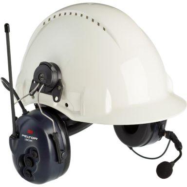 3M Peltor LiteCom Hörselskydd med komradio, hjälmfäste