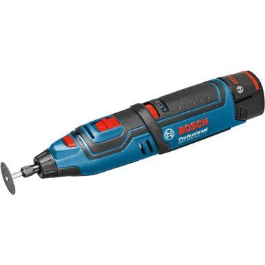 Bosch GRO 12V-35 Universalverktyg med batterier och laddare