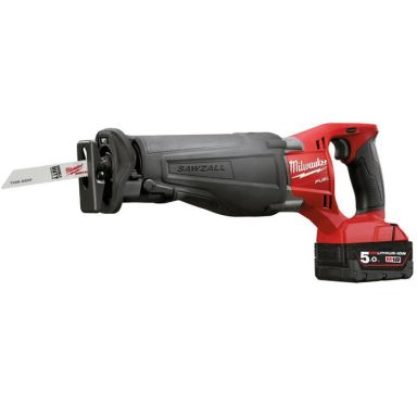 Milwaukee M18 CSX-502C Tigersag med 5,0Ah batterier og lader