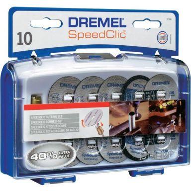 Dremel EZ SpeedClic SC690 Tillbehörsset för kapning 11 delar