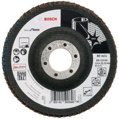 Bosch Best for Inox Lamellslipskiva