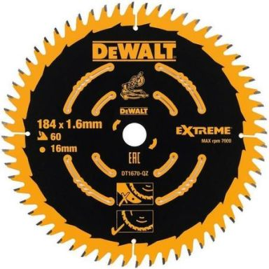 Dewalt DT1670 Sagklinge 60T