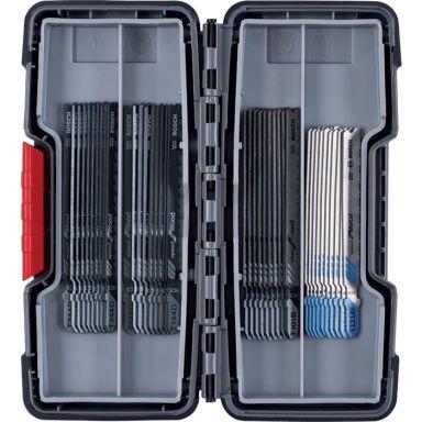 Bosch 2607010904 Sticksågsbladsats 40 delar