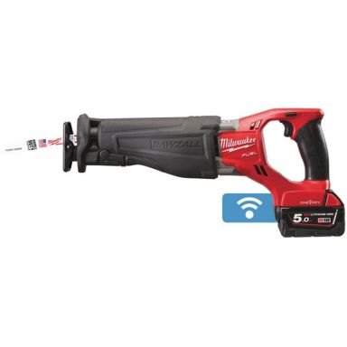 Milwaukee M18 ONESX-502X Tigersåg med batterier och laddare
