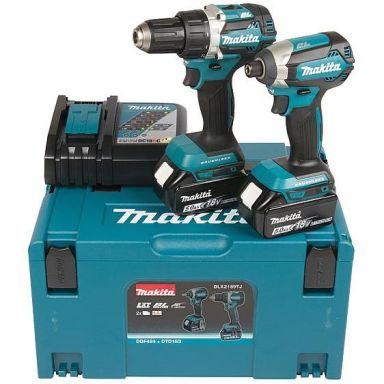 Makita DLX2189TJ Työkalupaketti