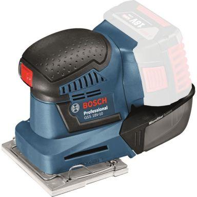 Bosch GSS 18V-10 Planslip L-Boxx, utan batterier och laddare