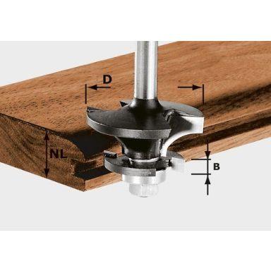 Festool HW S8 D43/21 A/KL Kontraprofilfräs 8mm spindel