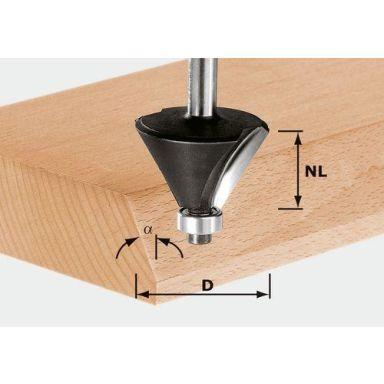 Festool HW S12 D44/30/30° Fasfräs 12mm spindel