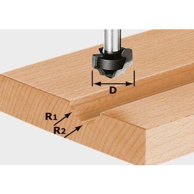 Festool HW S8 D19/R5/R4 Profilfräs 8mm spindel