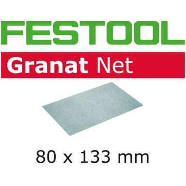 Festool STF 80x133mm GR NET Nätslippapper 80x133mm, 50-pack