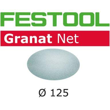 Festool STF D125 GR NET Nätslippapper 125mm, 50-pack