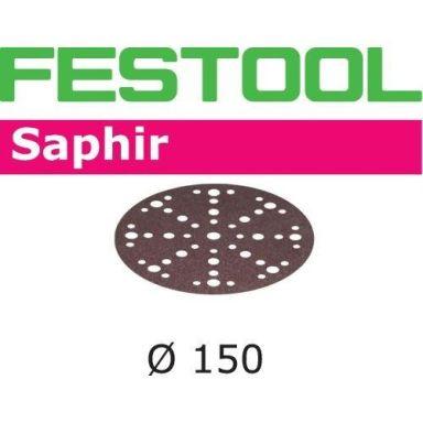 Festool STF D150 SA Hiomapaperi 150mm, 48-reikäinen, 25 kpl