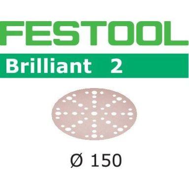 Festool STF D150 BR2 Hiomapaperi 150mm, 48-reikäinen, 10 kpl