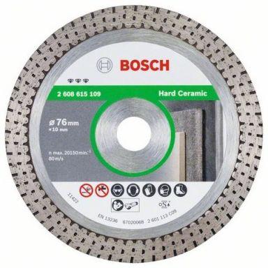 Bosch Best for Hard Ceramic Diamantkapskiva