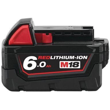 Milwaukee M18 B6 Li-Ion-batteri 6,0Ah