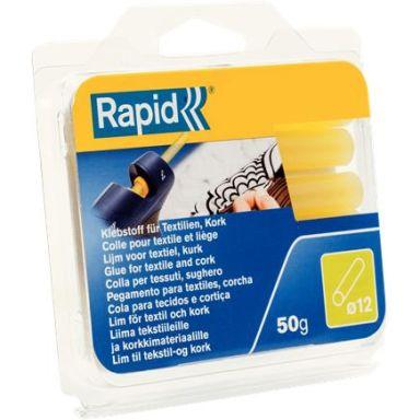 Rapid 40107353 Limstav Textil, 50 g, Ø12x94 mm