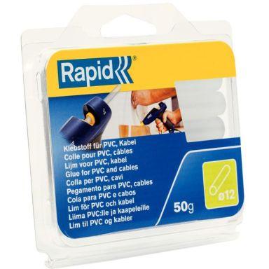 Rapid 40107351 Limstav PVC/Kabel, 50 g, Ø12x94 mm