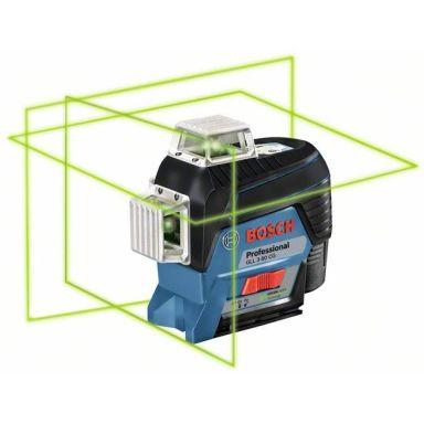 Bosch GLL 3-80 CG Ristilaser sis. 2,0 Ah:n akun ja laturin