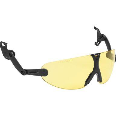 3M Peltor V9A Øyebeskyttelse integrert, gul linse