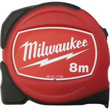 Milwaukee S8/25MM Måttband 8 meter