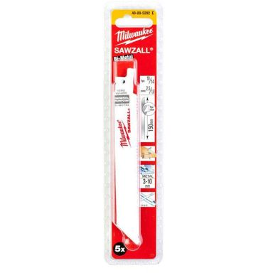 Milwaukee 48005292 Tigersågblad 5-pack