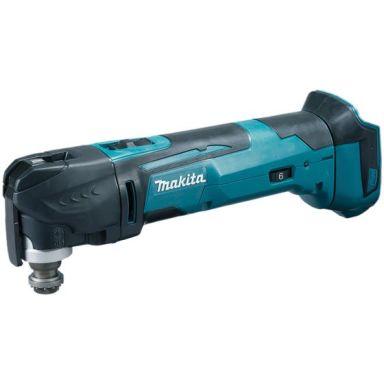 Makita DTM51ZJX1 Multiverktyg utan batteri och laddare, med tillbehör