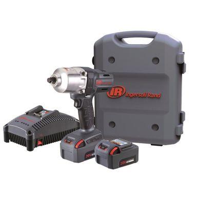 Ingersoll Rand W7150EUK22 Muttertrekker med 5,0Ah-batterier og lader