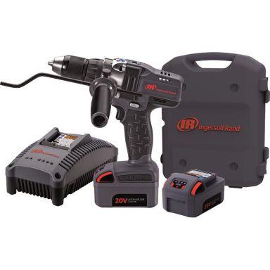 Ingersoll Rand D5140EU-K2 Borrmaskin med 3,0Ah batterier och laddare