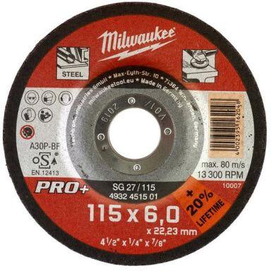 Milwaukee SG 27 PRO+ Kapskiva