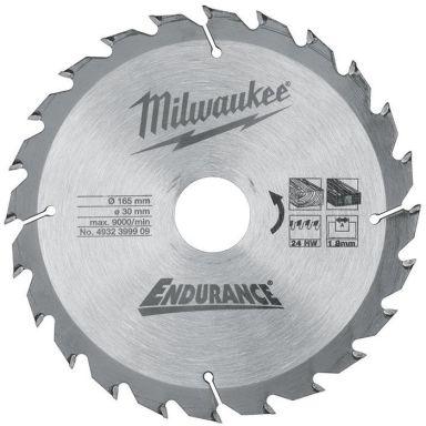 Milwaukee 4932399909 Sågklinga 165x2,6x30mm, 24T