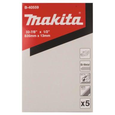 Makita B-40559 Vannesahanterä 5 kpl, 18T